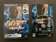 007: NightFire James Bond (Sony PlayStation 2, 2002) PS2 Complete Free Shipping