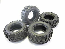 4pc 90mm OD Tire Set with Foam Inserted fit 1.9 Inch Rim for 1/10 RC Crawler