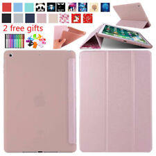 For iPad 5th 6th Gen 2017 2018 Air 1 2 Pro 9.7 PU Leather Smart Slim Case Cover