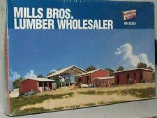 Walthers Cornerstone HO scale 933-3082 Mills Brothers Lumber Wholesale