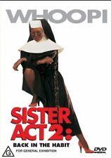 SISTER ACT 2 - BACK IN THE HABIT - BRAND NEW & SEALED DVD (WHOOPI GOLDBERG)