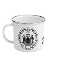 Shawshank Redemption State Prison Department of Corrections Enamel Coffee Mug