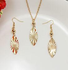 Fashion Women   Pendant Necklace Chain Earrings Jewelry Set DZ204