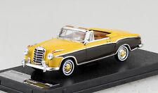Mercedes Benz 220SE Cabrio gelb braun 1958 1:43 Vitesse Modellauto 28626