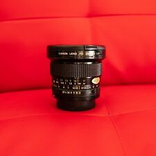 New ✮✮ canon fd 20mm f/2.8 lens ✮✮ beautiful 20/2.8 nfd comes with 2 caps fdn ✮✮