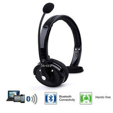 Wireless Bluetooth Car Headset Noise Cancelling Truck Driver Trucker Headphone