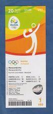 ORIG. ticket juegos olímpicos de río de janeiro 2016-voleibol Finale mujeres!!!
