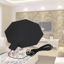 Digital Indoor TV Antenna HDTV DTV PC Ready HD VHF UHF Flat Design High Gain TL