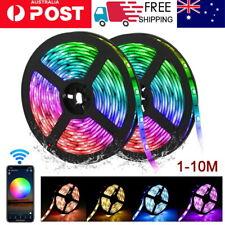 AU RGB LED Strip Lights IP65 Waterproof 5050 150 leds 12V USB Bluetooth 1-15 m