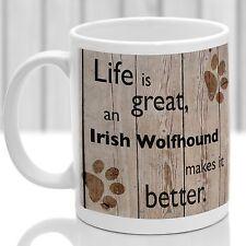 IRISH WOLFHOUND DOG Mug, Irish Wolfhound Chien Cadeau, Idéal Cadeau Pour Dog Amant