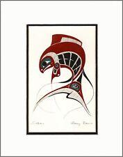 New art print KING SALMON by Gitskan British Columbia artist DANNY DENNIS