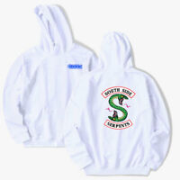 TV Show Southside Serpents Mens Funny Riverdale Hoodie Halloween Unisex Tops HOT