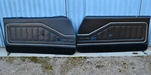 HQ Holden Monaro GTS LS and Coupe Door and quarter trims RARE !!!!!
