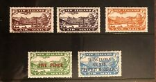 New Zealand 1931-34. 1st Airmail Issues Complete.  LH Mint.