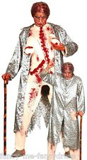 Mens Zombie Flasher Granny Halloween Stag Do Fancy Dress Costume Outfit Large
