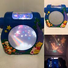 Vintage TOMY Disney Winnie Pooh Cot Night Light Projector Music Lights Sounds