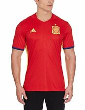 Maillot Adidas Selection espagnole Home Euro 2016 Scarlet-bright Yellow M