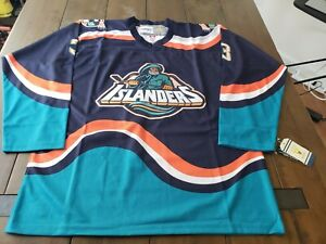 Custom Zdeno Chara New York Islanders #3 Fisherman Jersey Size 52/XL