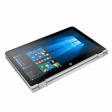 "HP Touch-Screen x360 15t Silver Laptop 15 Convertible 15.6"" i5-7200U 8GB 1TB AC"