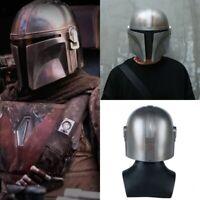Mandalorian Helmet Cosplay Star Wars Face Adult Darth Vader Yoda Christmas Gift