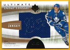 Joe Colborne - 2011-12 Ultimate Collection Debut Threads Autographs #DTJC
