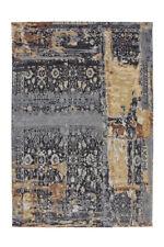 Arte Espina Teppich Vintage Muster Used Optik Design Beige Grau Blau 75x150cm