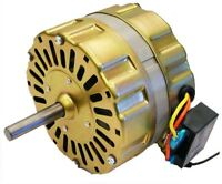 Master Flow Replacement Power Vent Motor PR-1 PR-2 PG1 PG2 Series Ventilation