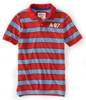 Aeropostale Mens A-87 Rugby Polo Shirt