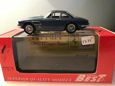 Best 1/43 Scale Model Car 9100 - Ferrari 330 GTC 1966 Blue