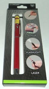 e-Circuit Multifonction Stylet Rouge Ton Stylo / / Lumière Flash / Laser Nib