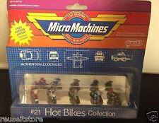 Micro Machines 1988 #21 Hot Bikes Collection Motorcycle Nos Galoob Ducati Yamaha