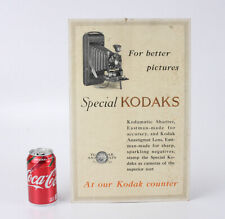KODAK POSTER FOR THE FOLDING SPECIAL SERIES, SOME WEAR/cks/208266