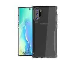 For Samsung Galaxy Note 10 10+ Shockproof Clear PC+Silicone Back Case Cover