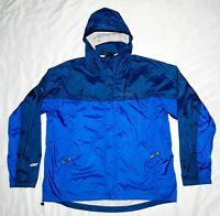 Marmot Precip Large Nylon Shell  Rain Jacket Blue Men's