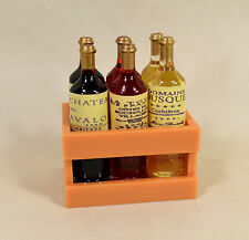 Wine Bottles in a Crate Magnet