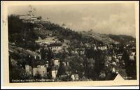 RADEBEUL West Sachsen um 1925 Häuser Partie am Berg zur Friedensburg Postkarte
