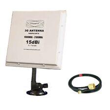 UMTS 3G HSDPA 15dBi Panel Antenne E169 E176 E3131 E173 Speedstick CRC-9 FLEX