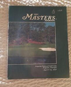 Masters Journal 1997 - Autographs Gem Golf Collectible