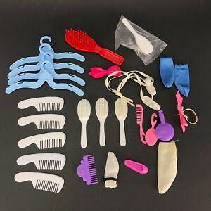 VTG Doll Shoes Miniature Brush Comb Ballerina Flats Hangers Sox Accessories Lots