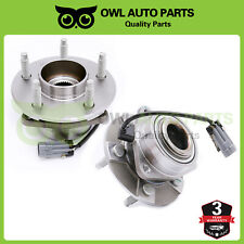 2 Front Wheel Bearing and Hub For 02-06 Chevy Equinox Saturn Vue Pontiac Torrent