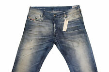 DIESEL POIAK 0808Y SLIM TAPERED JEANS W29 L32 100% AUTHENTIC