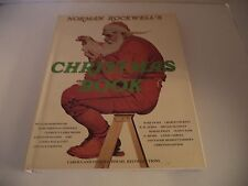 Vintage Norman Rockwell's Christmas Book / 1977 / Illustrated w/ Dust Cover
