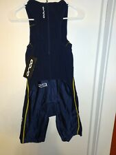 New listing MEN Orca Triathlon Core Suit  RS1  medium Black Vented Sleeveless Padded