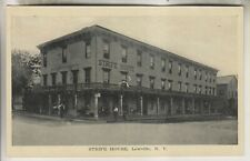 VINTAGE POSTCARD - STRIFE HOUSE - LOWVILLE NEW YORK