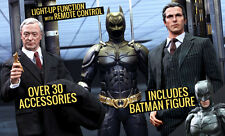 Batman Armory with Bruce Wayne and Alfred (1:6) Hot Toys 902171 MMS236 (NEW)