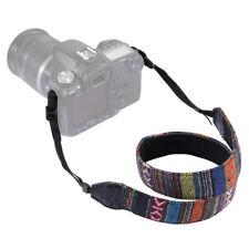 Vintage Camera Neck Shoulder Straps Adjustable For Nikon Canon Fuji Sony DSLR