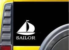 Sailor Sticker k216 6 inch sailing boat sailboat decal
