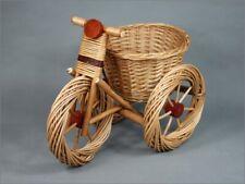 Wiklinowy kosz rowerowy Kwiatowy kosz rowerowy Wiklinowy kosz Doniczka