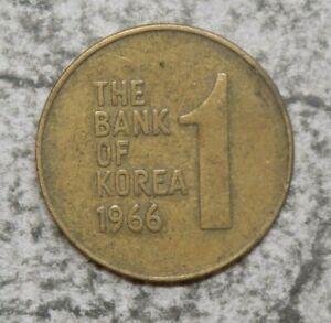 South Korea 1966 1 Won Coin