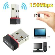 USB wifi Adapter Wireless Dongle Adaptor 802.11 B G N Lan Network Fast Plug Play